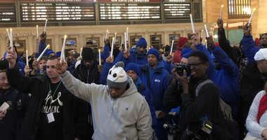 Mama Doe Grand Central Vigil