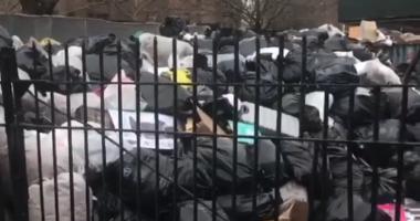 NYCHA trash