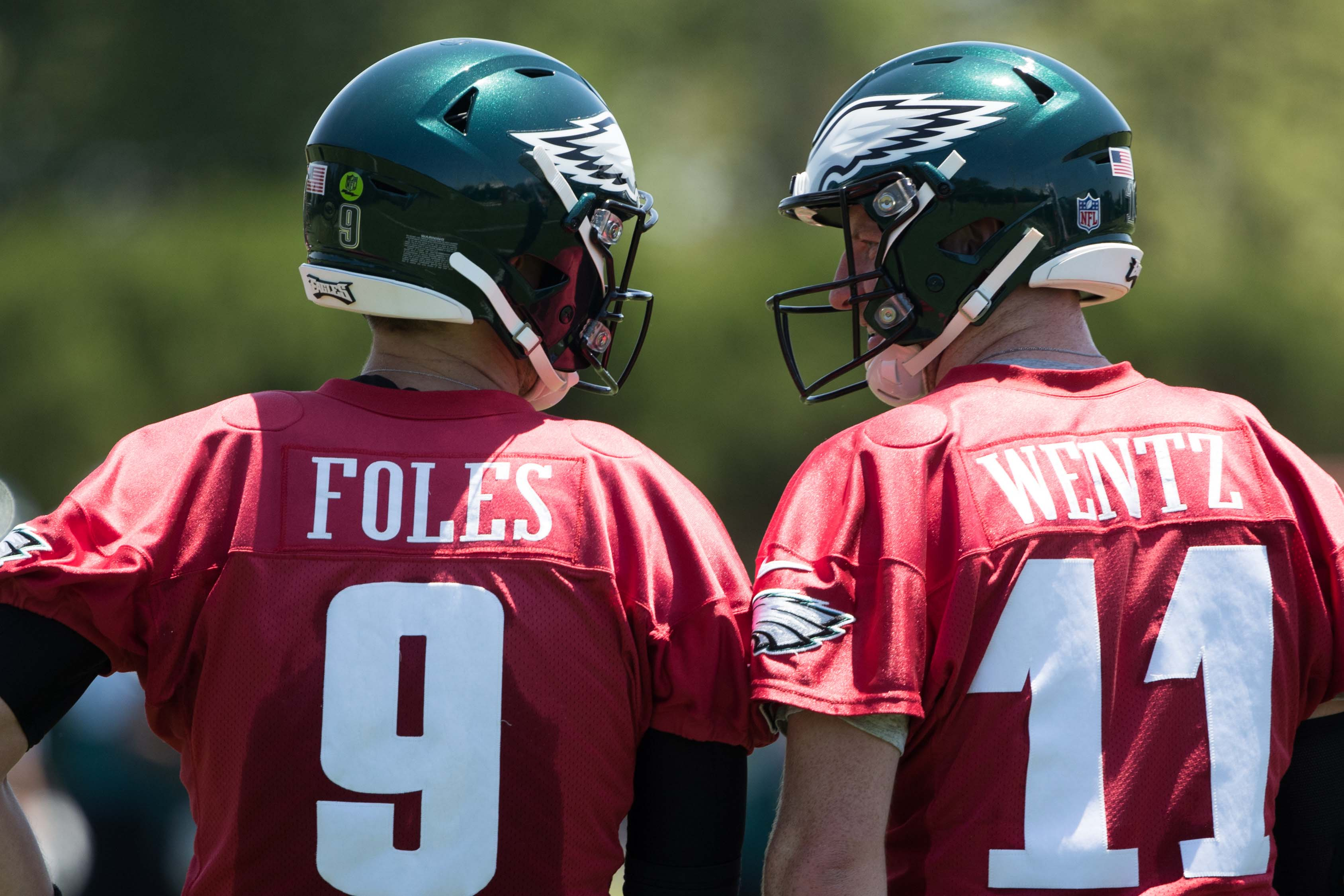 new style 37803 c94d5 Carson Wentz can end the Nick Foles debate | 94 WIP