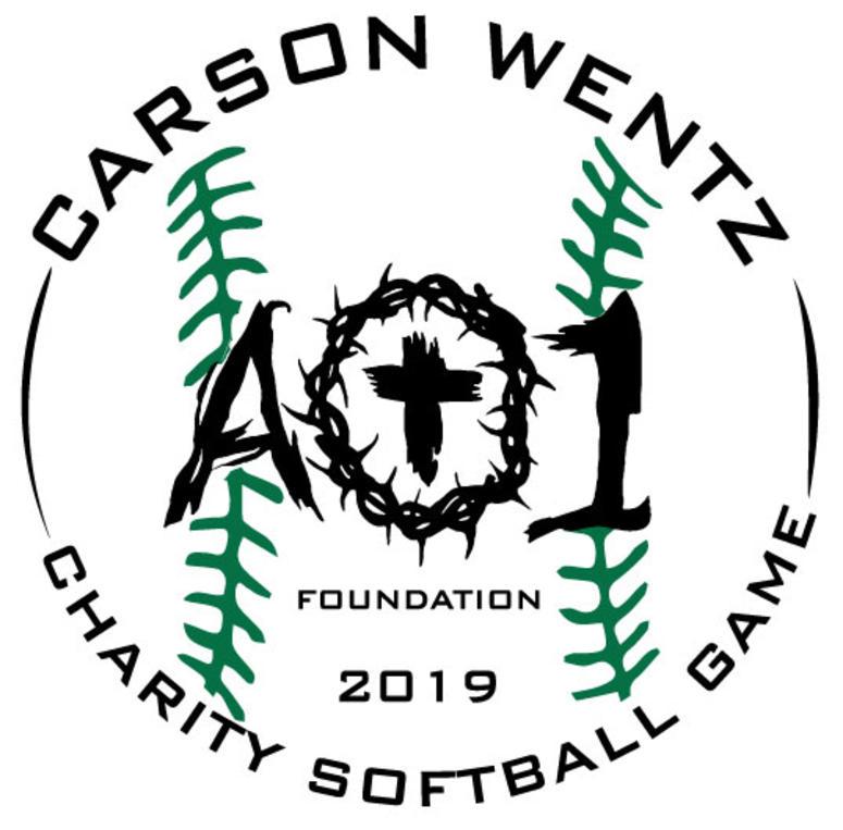 Carson Wentz charity softball