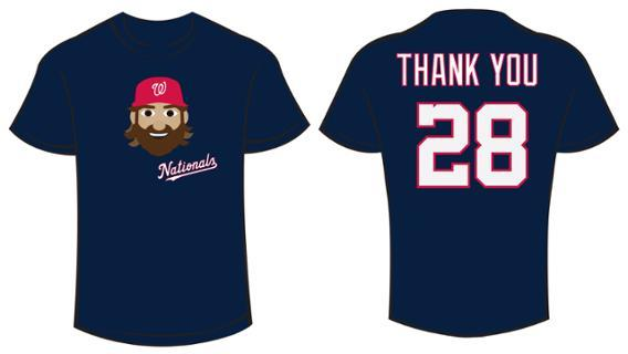 cheap for discount 09cc4 462bb Nationals announce 'Jayson Werth Appreciation Day' | 106.7 ...