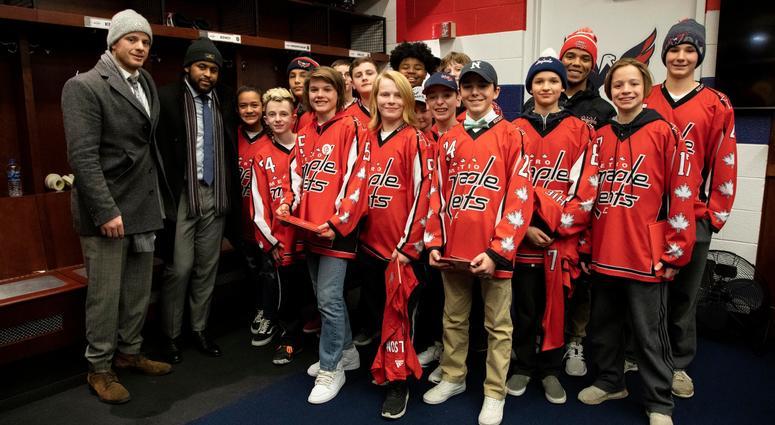 Divyne Apollon II and the Metro Maples Leafs meet the Washington Capitals