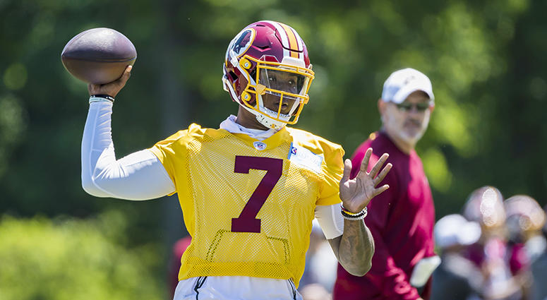 Nate Burleson: Dwayne Haskins is 'gonna light this league on fire'