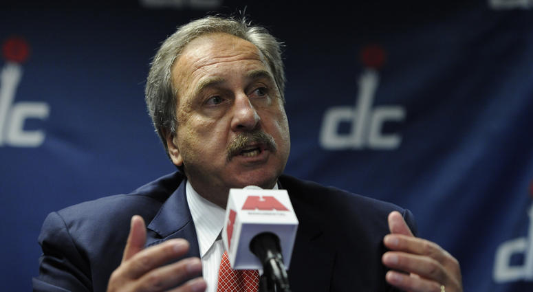 Wizards announced the firing of team president Ernie Grunfeld.