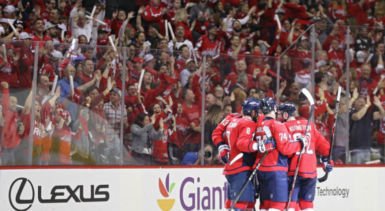Washington Capitals dominate in Game 5.