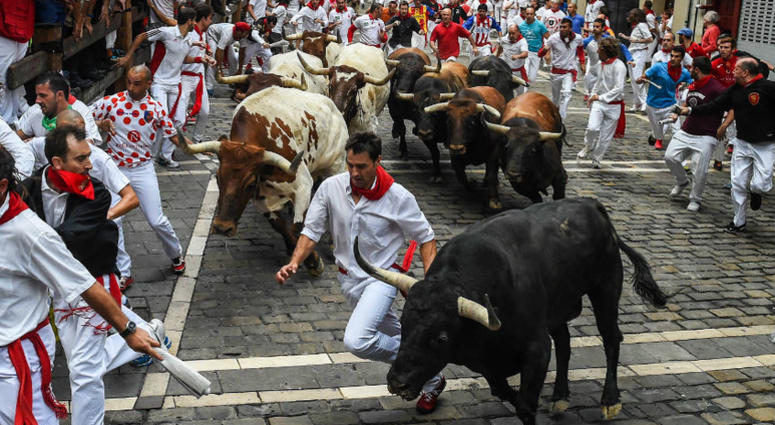 Redskins CB Josh Norman goes to Pamplona and the running of the bulls.