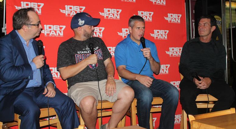 The Sports Junkies hang out with Joe Beninati and Alan May to talk Caps!
