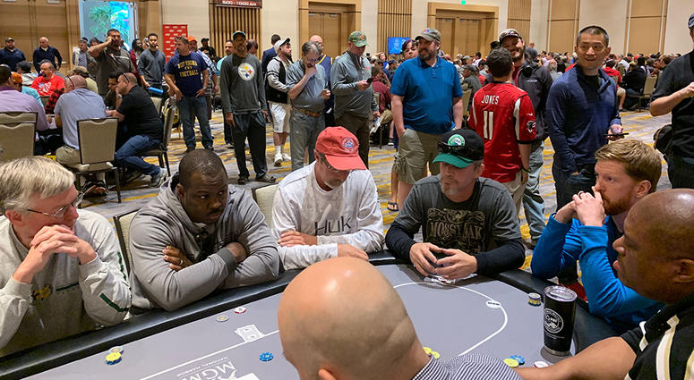 JPO was another record-setting poker event with 750+ players.
