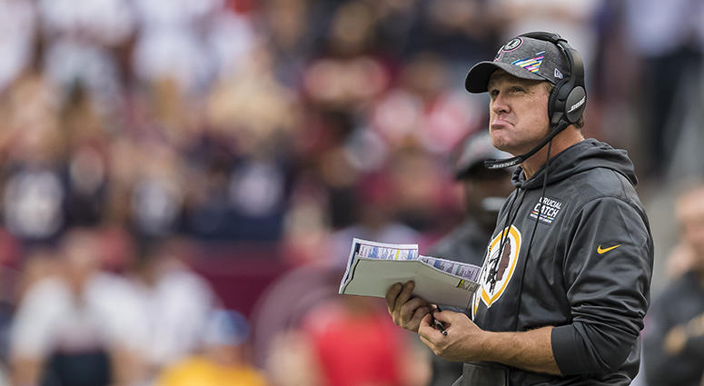 Moss: Redskins didn't show enough 'fight' under Jay Gruden