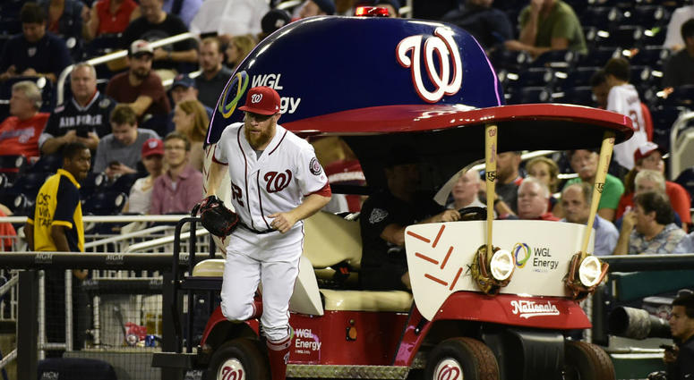 Nationals looking for bullpen cart driver