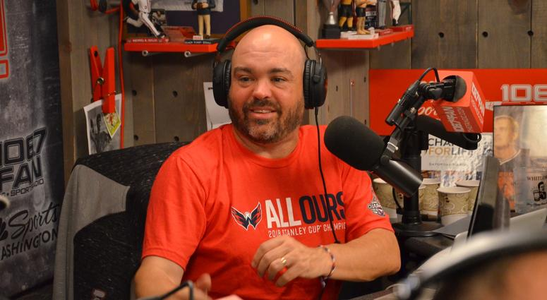 John 'Cakes' Auville of The Sports Junkies