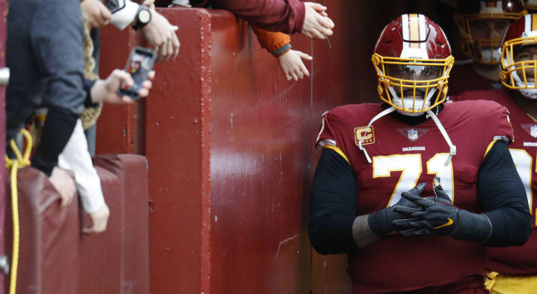 SOURCE: Redskinswon't explore trading Trent Williams until January