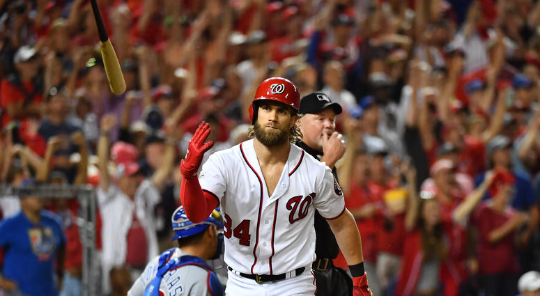 71574e82a477a3 Bryce Harper unapologetic in cheering for Vegas   106.7 The Fan