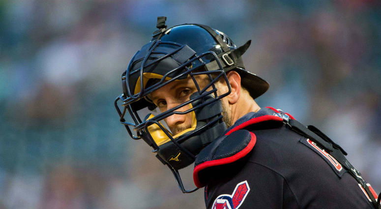Yan Gomez made his first all-star team with the Indians in 2018.