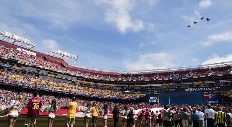 Redskins are locked into playing at FedEx Field until 2027, but what's next?