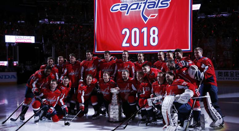 669ea215 WATCH: D.C. turns out for Capitals' Banner Night | 106.7 The Fan