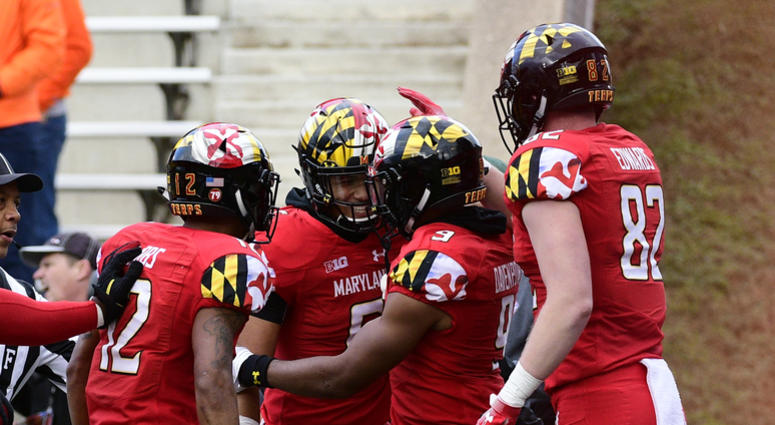 save off 0938f 35e7a Terps players turn on each other, brawl | 106.7 The Fan