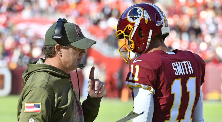 060cbb6fbfe Collapse: Timeline of the 2018 Redskins' demise | 106.7 The Fan