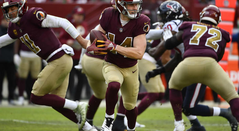 Redskins' Trey Quinn does Michael Scott's 'The Scarn' after