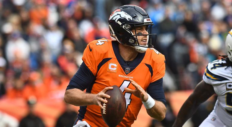 Redskins acquire QB Case Keenum in trade with Broncos