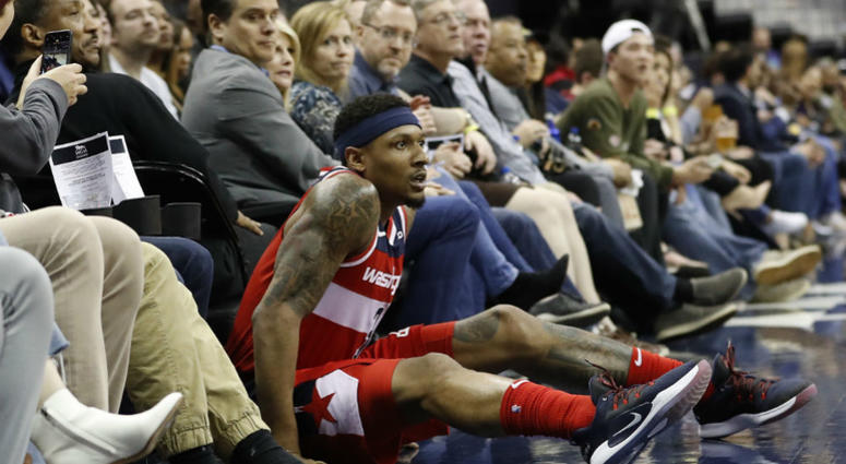 Wizards guard Bradley Beal scored 40 points, but Washington lost for the 40th time.