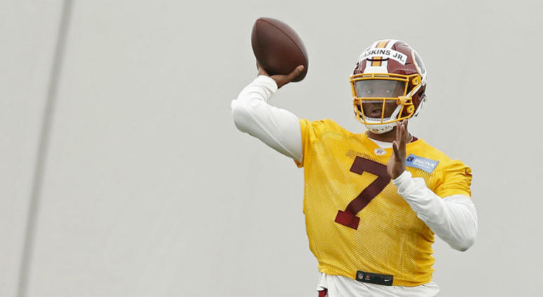 Growing pains worth it for Redskins to start Dwayne Haskins.