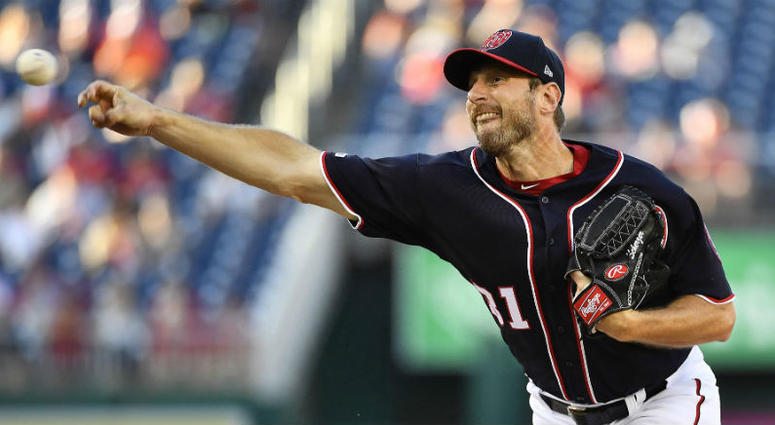 These GIFs of Nationals pitcher Max Scherzer will blow you away.