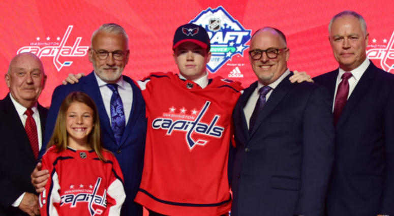 Caps draft Connor McMichael at No. 25