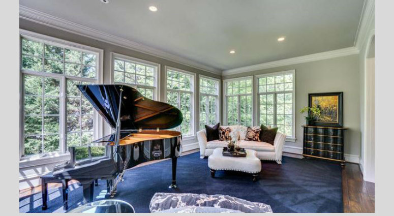 Bruce Allen's McLean, Virginia mansion is up for sale again.