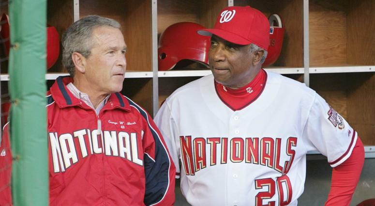 Frank Robinson, Nats'first skipper and MLB's first African-American manager, dead at 83