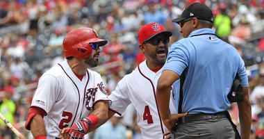 Eaton: Martinez and I 'had a pop together' after getting tossed