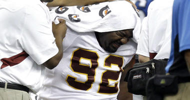 Santana Moss, DeAngelo Hall recount hilarious Albert Haynesworth story