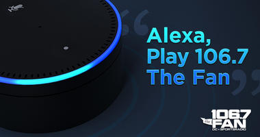 Listen to 106.7 The Fan from your Amazon Echo