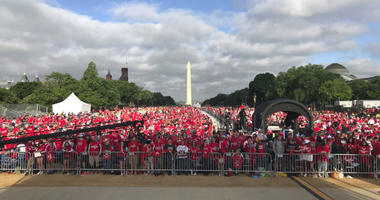 Photos of the Capitals Victory Parade in D.C.
