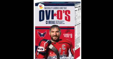 Alex Ovechkin's cereal Ovi O's will soon hit store shelves