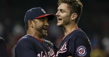 Scherzer: Dave Martinez criticism was just 'outside chatter'