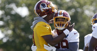 Derrius Guice expected to play Thursday against Falcons