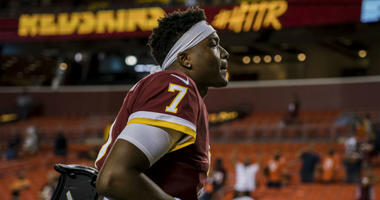 Not Dwayne Haskins time for Redskins yet