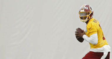 Competition or not, Dwayne Haskins' success is 'the only thing that matters' for Redskins