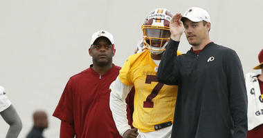 Redskins taking patient approach with rookie QB Dwayne Haskins
