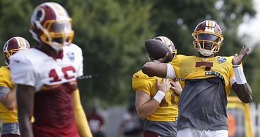 Morgan Moses: Dwayne Haskins has the 'golden arm'