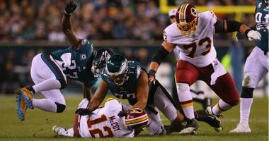 Months after injury, Redskins QB Colt McCoy's leg is still not 100 percent..