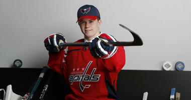 Washington Capitals made Connor McMichael their top pick in the 2019 NHL Draft.