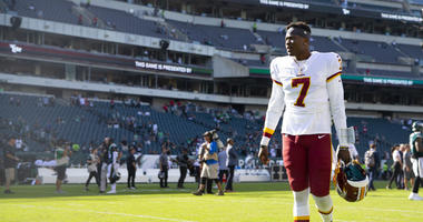 Why Redskins should not rush to play Dwayne Haskins