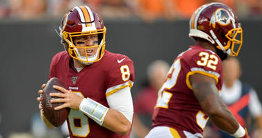 The Redskins offense still lacks explosiveness. A big concern?