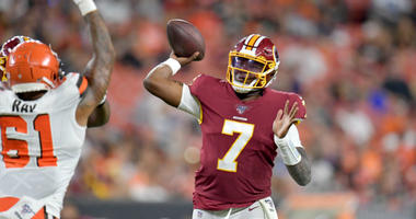 Washington Redskins brought inconsistent play to preseason game 1 vs. Cleveland Browns.