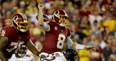 Morgan Moses: Quarterback decision is 'above my paygrade'