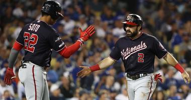 Nats strike first in Game 2 and never look back