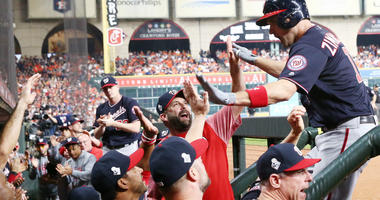 Nationals radio call from World Series Game 1 win