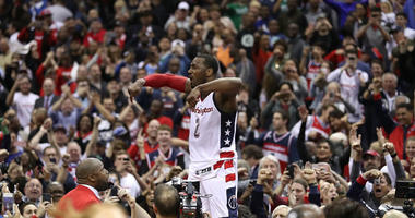 John Wall's supermax extension begins this season. It just got more expensive for Wizards..